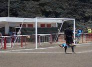 Bene consigue el primer gol de penalti
