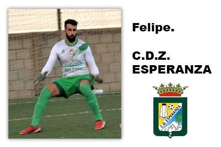 Felipe portero del Esperanza