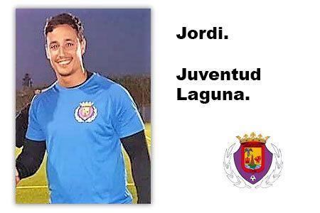 Jordi portero del Juventud Laguna