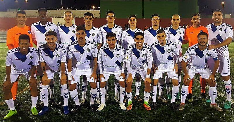 Plantilla Tenerife C ranking 1 grupo 2