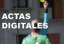 Llegan las actas digitales a Primera y Segunda Regional