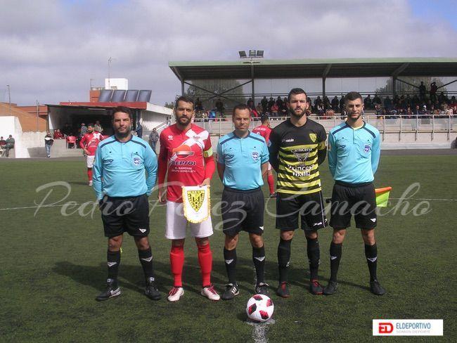 Trío arbitral del encuentro: Atl. Tacoronte vs UD Las Zocas.