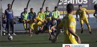 AUGüimar vs San Fernando, secuencia del encuentro.