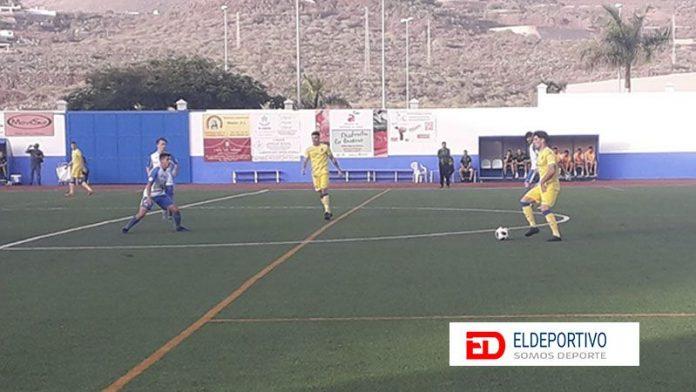 Secuencia del encuentro entre el CD Buzanada y la UD Las Palmas C.