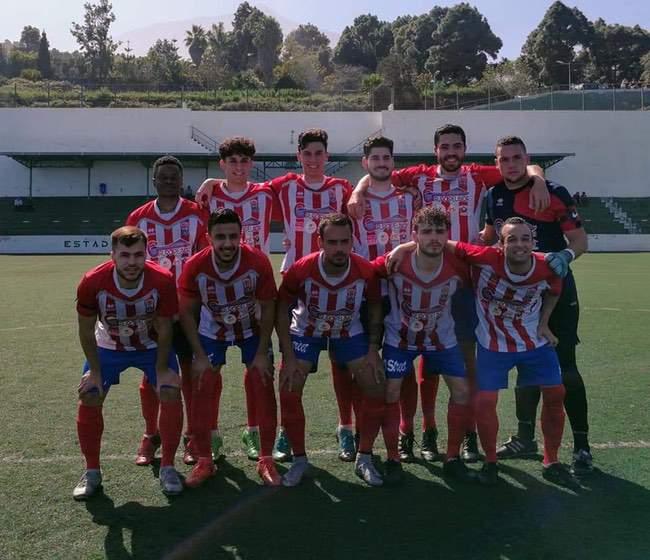 Once inicial del Atlético Granadilla.