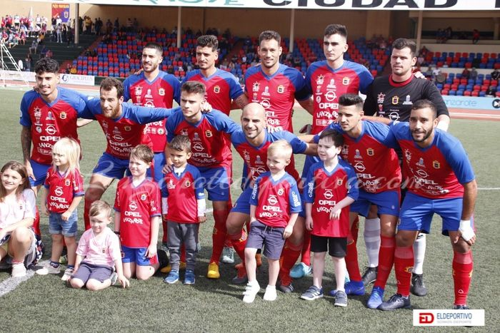 Plantilla de la U.D. Lanzarote, temporada 2018-19.