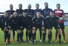Once inicial del Atlético Victoria frente al Orotava.