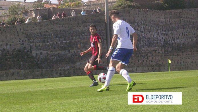 Secuencia del encuentro entre el Tenerife B y el Unión Viera.