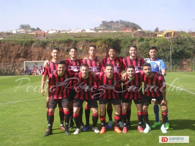 Once Inicial del CF Unión Viera.