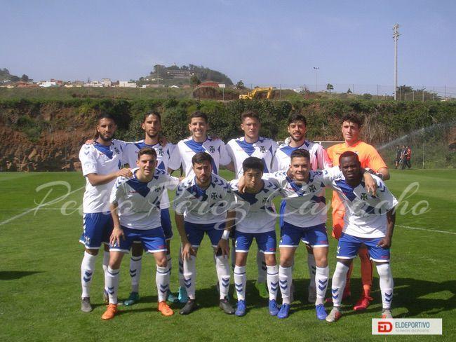 Once Inicial del filial Tenerife B.