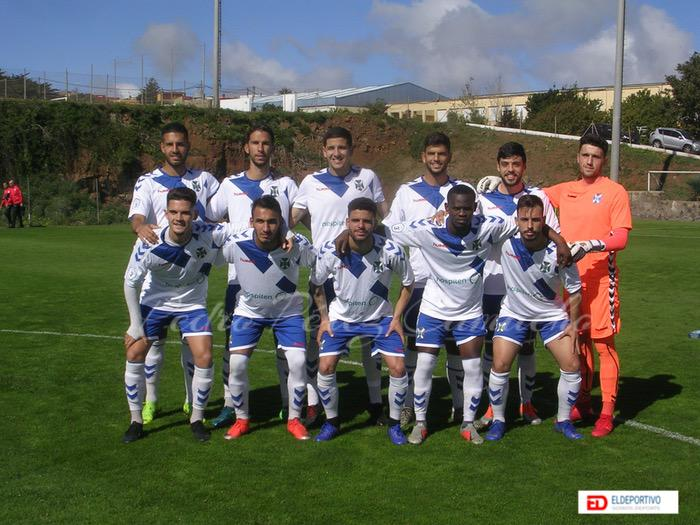 Plantilla del Tenerife B, temporada 2018-19.