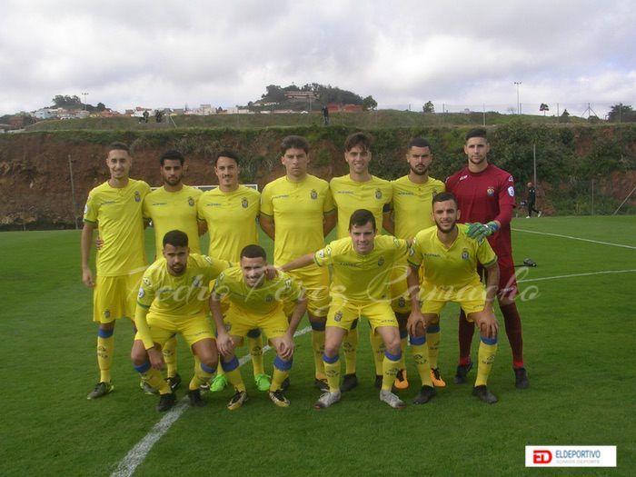 Plantilla de la U.D. Las Palmas C, temporada 2018-19.