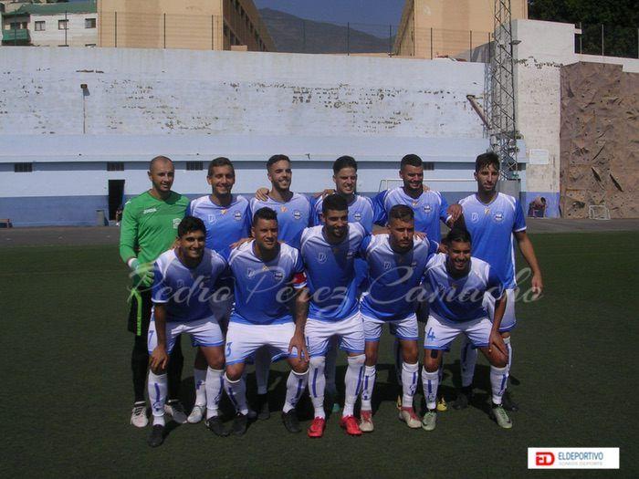 Plantilla de equipo C.D. Unión Puerto, temporada 2018-19.