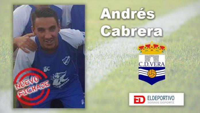 Andrés Cabrera vuelve al Vera.