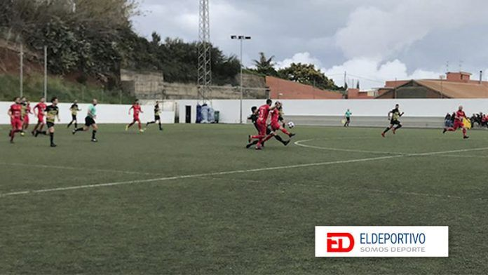 Reparto de puntos en Barranco Las Lajas.