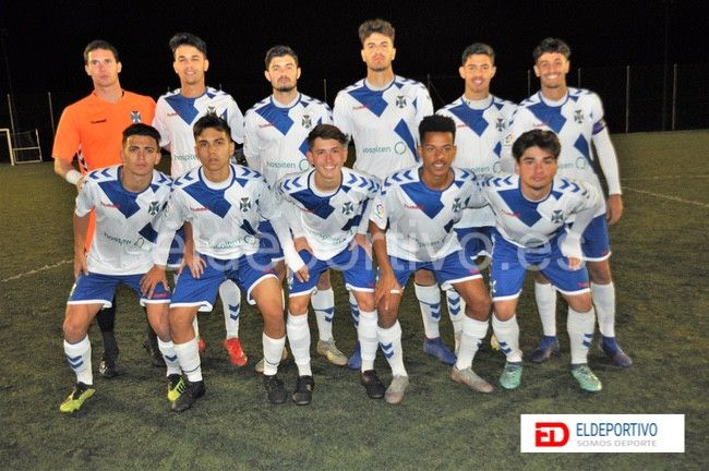 Once Inicial del CD Tenerife de Honor Juvenil.