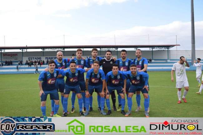 Once inicial del CD Guancha Fortunia.