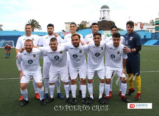 Once inicial del Puerto Cruz.