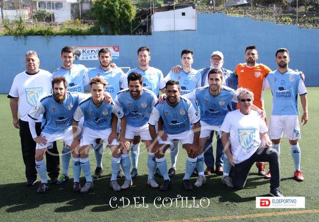 Once inicial del CD El Cotillo.