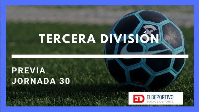 Tercera División Grupo Canario, Previa de la Jornada 30.