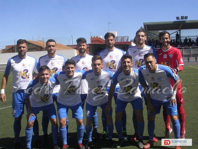 Once inicial del Buzanada, en su encuentro frente al Atlético Tacoronte.