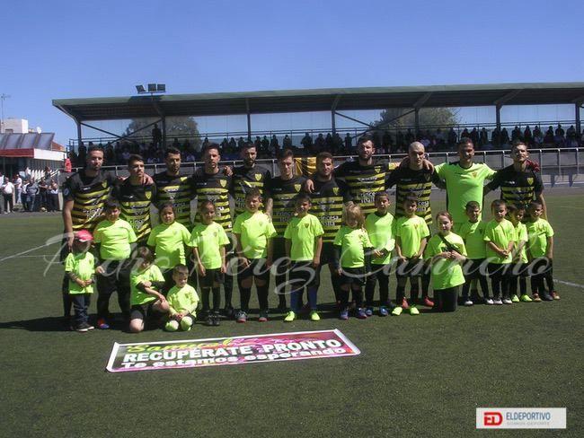Once inicial del Atlético Tacoronte, en su encuentro frente al Buzanada.