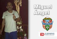 """Miguel Ángel Muñoz: """"El objetivo del equipo es el ascenso""""."""