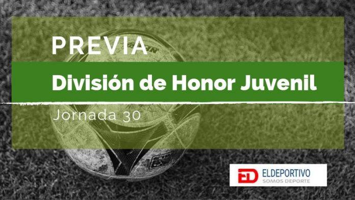 Previa División de Honor Juvenil - Jornada 30.
