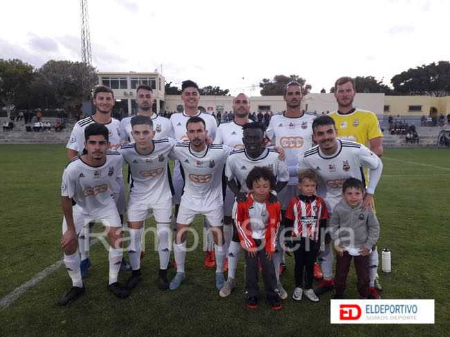 Once Inicial del UD Ibarra.
