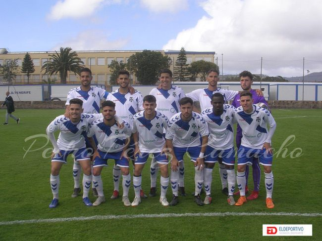 Once inicial del CD Tenerife B.