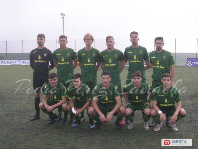 Once inicial de la UD Las Palmas, Juvenil.