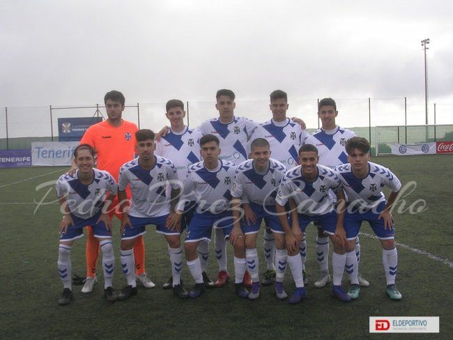Once inicial del CD Tenerife, Juveniles.