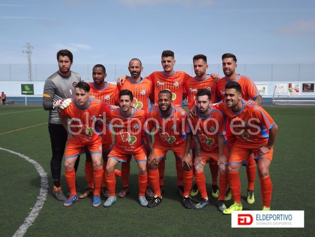 Once inicial del San Mateo.