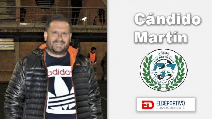 Cándido Martín, entrevista por su renovación.