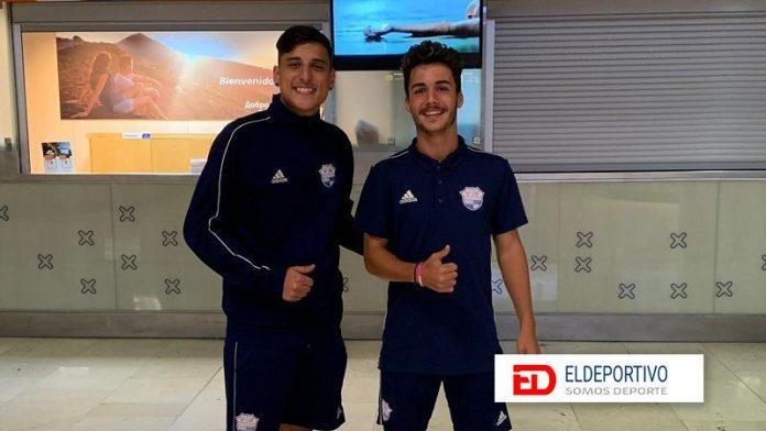 Dos juveniles debutan con el AUGüímar en Tercera División.