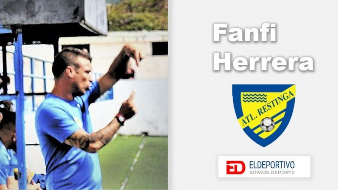Fanfi Herrera, entrenador del At. Restinga.