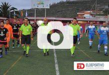 Comienzo del encuentro del Torneo de Campeones (2018 - 2019).