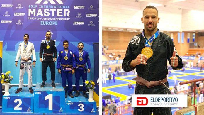 El portuense Aarón Martín Torres medalla de Oro en el International Championship Master Europe de Barcelona.