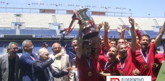 Sexta Copa Heliodoro para el CD Mensajero.