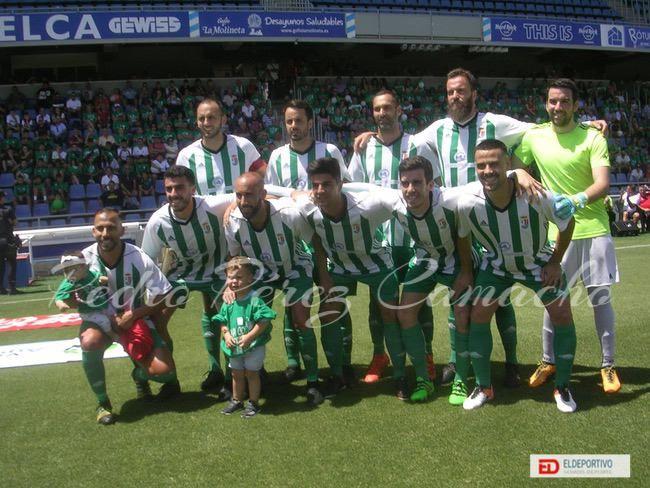 Once de el Atlético Victoria.