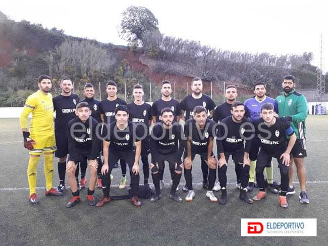 Once inicial del Tacoronte CF.
