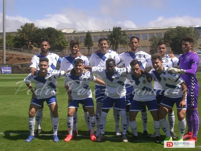 Once inicial del Tenerife B.