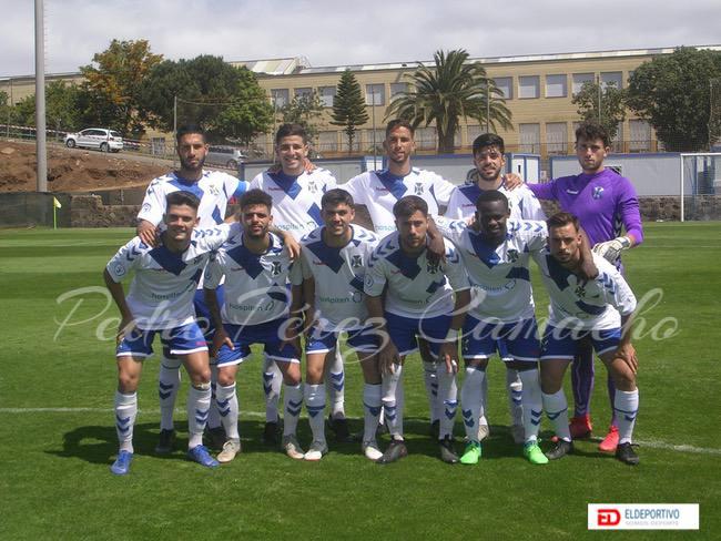 Once inicial del C.D. Tenerife B.