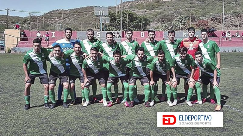 Once del CD Santos Reyes.