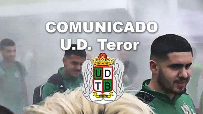 Comunicado del Teror.