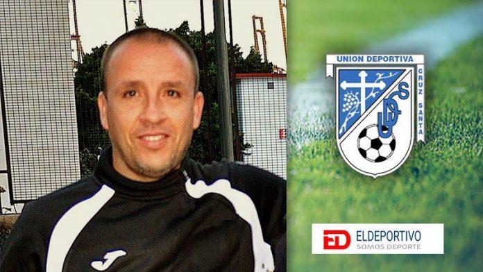 Eduardo de León nuevo entrenador de la UD Cruz Santa.