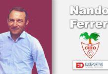 Nando Ferrer nuevo entrenador de la UD Chío.