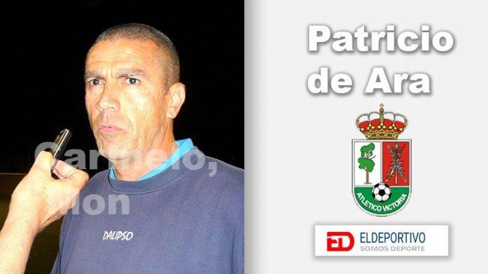 Patricio de Ara del Pino, entrenador del Atl.Victoria.