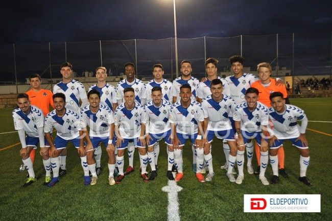 Primer equipo más deportivo, CD Tenerife.