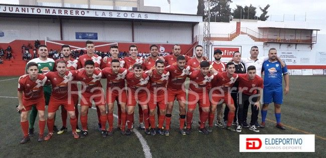 Once del equipo de Las Zocas B.
